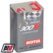 Motul 300V Competition 15w-50 Racing Engine Oil 100% Synthetic 5 Litres